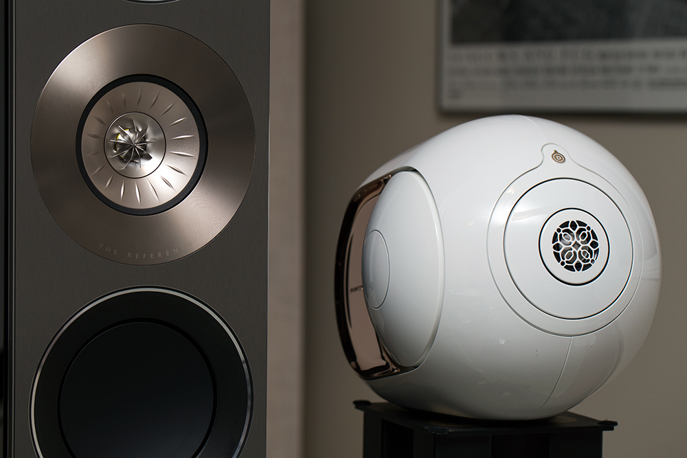 KEF and Devialet