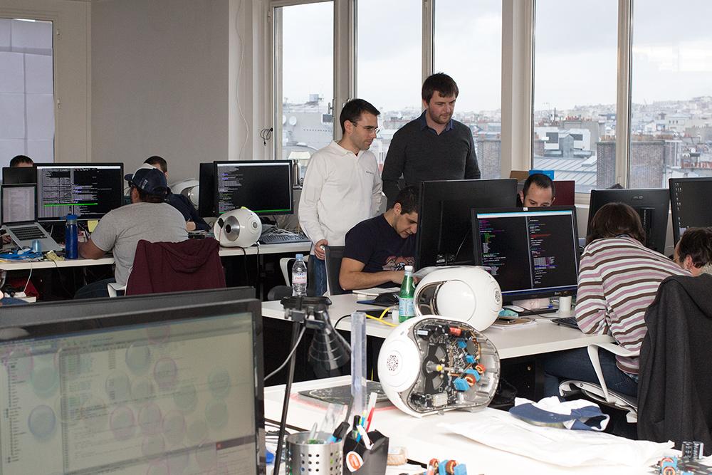 Devialet's software team at work