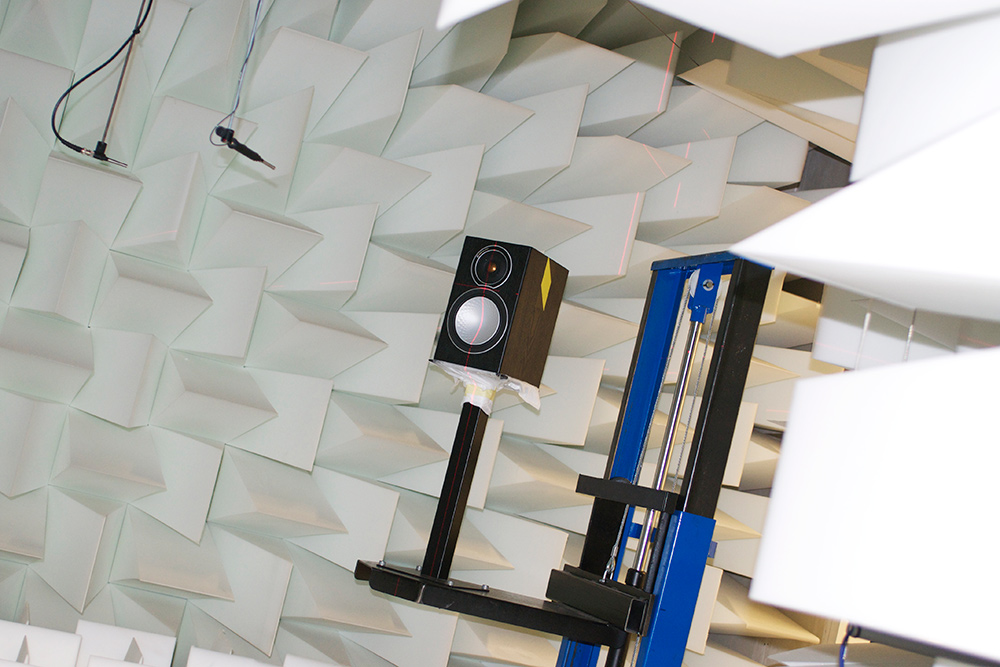Monitor Audio anechoic chamber