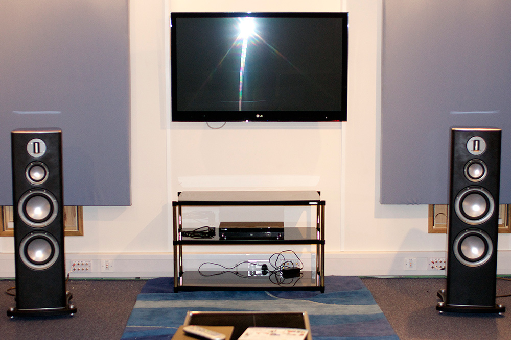 Monitor Audio listening room