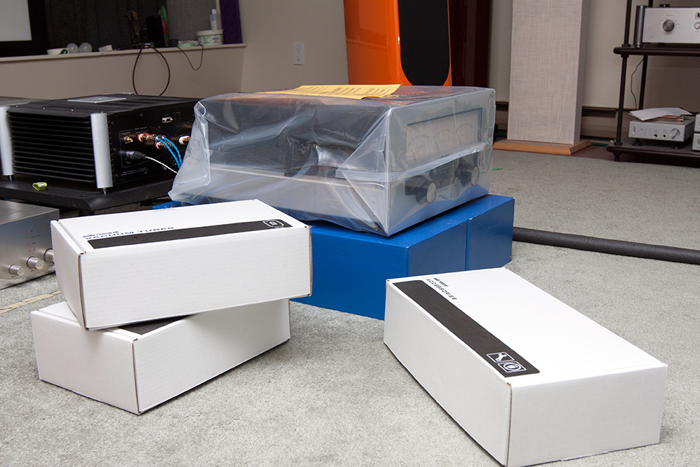 Audio Research boxes