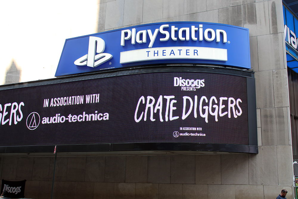 Crate Diggers sign