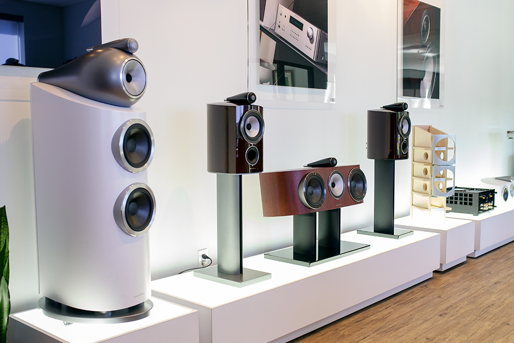 Bowers & Wilkins D3 speakers
